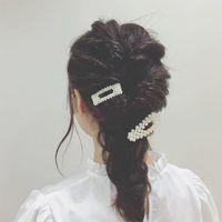 Mode Smycken 2019 Koreanskt hårklipp Billiga Partihandel Beställnings- Yiwu Factory Fancy Pearl Hair Clip Hair Pin