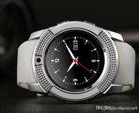 V8 Smart Watch SIM Phone Round Dial Bluetooth Full HD Display With