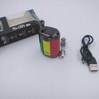 Kangapape Th-420V Box E Kits de cigarro 800mAh 20W ajustável Vape Mod 420 0.5ml Cartucho de Bobina Cerâmica