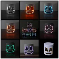 DJ marshmello mask cartoon Halloween Cosplay Headgears Bar M...