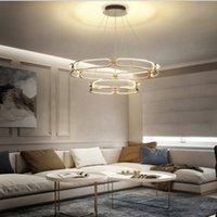 Lampadario a LED moderno illuminazione per soggiorno camera da letto casa per soffitti di lusso