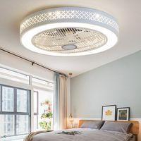 2020 Yeni Akıllı Tavan Fanı Kontrolü Cep Telefonu Ile Wi-Fi Kapalı Ev Tavan Fanı Işık