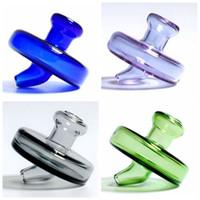35mm OD Universal Farbige Glas UFO Blase Carb Cap Dome Für Quarz Banger Nägel Glas Wasserleitungen Tupfen Ölplattformen Glas Bong