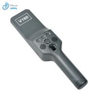 Detector de metais da barra da ponta de prova da mão da sensibilidade ultra alta de V160 para a inspeção da segurança do aeroporto da estação