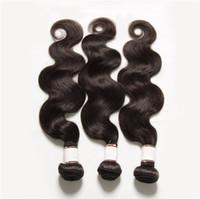Extensiones brasileñas del pelo humano de Remy del pelo peruano Indio Camboyano Extensiones de la onda del cuerpo de la armadura del pelo La mejor calidad acepta el retorno