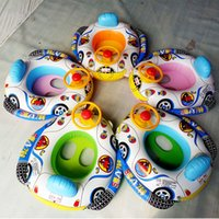 Inflatable Float Swim Ring Baby Swimming Float Summer Cartoo...