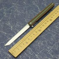 G10 kolu sihirli kalem D2 Saber Saber alan sağkalım bıçak kenarı kenarı kenar EDC aracı katlama av alan taktik uyku