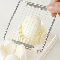 Creativo Egg affettatrice Cooking Tools 2in1 multifunzione Cut uovo della cucina affettatrice Sectione Cutter Mold Flower bordi Gadget casa Strumento VT1693