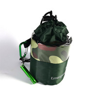 Doble persona Saco de dormir Emergencia Cuatro colores Selva bolsa de dormir Portátil plegable Admite ventas calientes para adultos 14xk C1