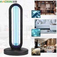 Haoxin 38W UV Desinfección lámpara de cuarzo esterilizador del bulbo del hogar Lámparas ultravioleta germicida UVC nave de luz de esterilización para Dorp