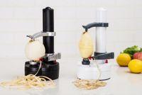 Çok fonksiyonlu Paslanmaz Çelik Elektrikli Peeler Otomatik Meyve Soyma Sebze Kesici Üç Yedek Bıçaklar Patates Soyma Makinesi
