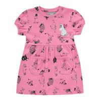Moomin Çocuk Giyim Kız Yaz T-shirt Pembe 100% Pamuk Küçük Benim Karikatür Tee Pembe Kısa Kollu T-shirt Y190516