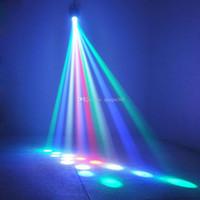 2019 Amazing Auto / Sound Actif 64 LEDS RGBW Light Disco Light Club Party Montrer des centaines de motifs DJ Bar Fête de la scène de mariage