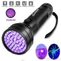 Uv Led Flashlight 51 Leds 395nm Ultra Violet Torch Light Lampada Blacklight Detector per cane urina Pet macchie e letto Bug