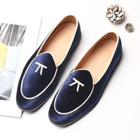 Plus Size Mens Loafers Designer Suede Leather Oxfords Dress ...