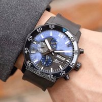 Edition Galapagos Islands Double Calendar PVD Black Steel Ca...