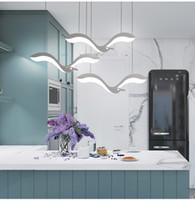 Kreativität Moderne Led Anhänger Kronleuchter Lichter Für Esszimmer küche front desk suspension leuchte suspendu led Leuchter