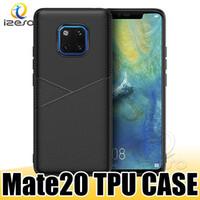 Pour Huawei P30 Lite iPhone 11 Pro Max Soft TPU Téléphone TPU Ultra mince Cuir Texture Couverture pour Samsung A20E S10 5G Cas