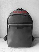 2019 venda quente clássico sacos de moda mulheres negras homens estilo mochila sacos mochilas unisex bolsas de ombro saco de escola michael 58024