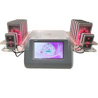 Tragbare Lipo-Laser-Maschine 14 Pads Lipolaser Abnehmen Fettverbrennung Weight Loss Fettabsaugung Cellulite reduzieren Ausrüstung