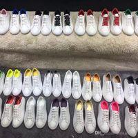 Zapatos de ocio primavera primavera otoño encaje hacia arriba zapatillas de deporte hombres hombres blanco zapatos gimnasia bailando conducción plana zapatos casuales tamaño 34-42-45