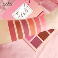 Rose Naturel 6 Couleurs Pour Le Visage Maquillage Cheek Blush Poudre Mat Blusher Pressé Fondation Palette Outils IMAGIC Blush