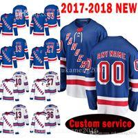 VENTA CALIENTE Nueva York Rangers encargo 2020 Nuevo 10 J. T. Miller 93 Mika Zibanejad Jersey 13 Kevin Hayes 27 Ryan McDonagh 26 Jimmy Vesey jerseys