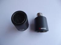 Классическая одна труба Inlet63mm-outlet89mm для АК углеродного волокна выхлопной наконечник выхлопной трубы глушителя