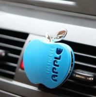 Auto per il profumo dell'automobile dell'automobile dell'automobile Deodorante per profumi 30g Vari Odore Cute Shape Apple Auto Perfume Auto Accessori Auto Spedizione gratuita