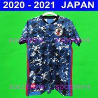 Japão Novo 2020 Casa Camisa de Futebol Tradicional 2020-2021 Jerseys de futebol Okazaki Kagawa Honda Kasebe 20 21 Uniformes Maillots de pé