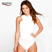 BFUSTYLE Femmes Sexy multivoies Monokini Bandage Maillots Plongeant High Beach Cut Wear Twist Knot Backless Maillot de bain