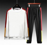 Designer Tracksuits Spring Sweater Suit Casual 2pcs Sports Suits Fashion Trend Hoodies Running Tracksuits Sets Clothing
