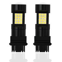 2 Pcs 1300LM Frein De Voiture Reverse 12V Lampe Clignotant T25 3157 3156 P27 / 7W T20 W21W LED W21 / 5W LED WY21W 7440 7443 Ampoule LED