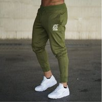 New Brand Print logo Gyms Men Joggers Casual Men Sweatpants ...