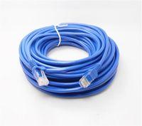 Cavo Ethernet 3ft 1m 3m 5m Cavo di rete Ethernet RJ45 Cavo di rete Cavo LAN Cavo di colore blu Ponticello Collegamenti di rete RJ45 CAT5 5E CAT5E
