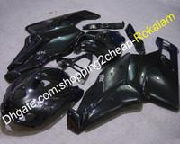Ducati 999 749カウリングオートバイ2005 2006 749S 999R 05 06ブラックボディワークフェアリング(射出成形)