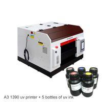 ID jet d'encre A3 Card Printer Imprimante à plat Téléphone imprimante Machine d'impression UV Case A3