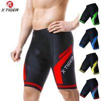 X-KAPLAN Bisiklet Şort 5D Jel Pad Erkekler Bisiklet Şort Man Giyim MTB Hızlı Kuru Erkekler Külotlar Biker Erkekler
