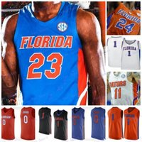 2020 NCAA Флорида Граторы # 1 Tre Mann 11 Keyontae Johnson 23 Scottie Lewis 50 Haslem 25 Parsons Udonis Chandler Мужчины молодежи Винтаж Джерси
