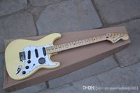Free shipping New cream cream stratocaster Electric Guitar