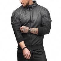 Mens Fashion Frühling Hiphop Tracksuits beiläufige Sport-Tops Gestreifte Folds 3D Printing Gradient Male Hoodie For Sale
