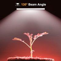 60 سنتيمتر تنمو ضوء أنبوب كامل الطيف بلوري 2 حزم مصباح النمو بار ل النبات الداخلي تنمو المزهرة الزراعة المائية الدفيئة تنمو خيمة