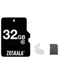 2020 Hot 100% nagelneu Zoskala realen echt 2GB 4GB 8GB 16GB 32GB 64GB 128GB U1 C10-volle Kapazität TF-Speicherkarte für Kameras Smartphones