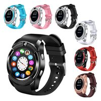 V8 Bluetooth Smartwatch For iOS Android Notification Sync Mu...