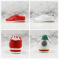 Nuevo Forrest Gump GC Stranger Things CLASSIC CORTEZ QS HH Zapatillas de running 3M Reflection Men Red White Green Outdoor Designer Sports Sneakers