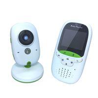 Moniteur vidéo pour bébé Portée sans fil longue portée améliorée, 850 ', vision nocturne, surveillance de la température et écran couleur portable de 2' '