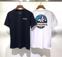 7 colore Marca maglietta patagonia maglietta Moda Maglia a manica T traspirante Uomini uomini donne T-shirt