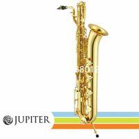 Jüpiter JBS-1000 Baritone Saksafon E Düz Altın Lake Uluslararası Müzik Enstrüman Dava Aksesuarları ile Ücretsiz Kargo