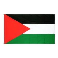 Freier Shpping auf Lager Nationen Flags 3x5FT 90x150cm Hänge PLE PS Palästina-Flagge palästinensischer Banner für Indoor Outdoor-Dekoration