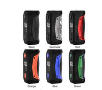 Geekvape Aegis Solo 100W TC-Box MOD mit externer Single 18650-Batterie Neueste AS-Chipset für wasserdichte Shockproof 100% Authentic